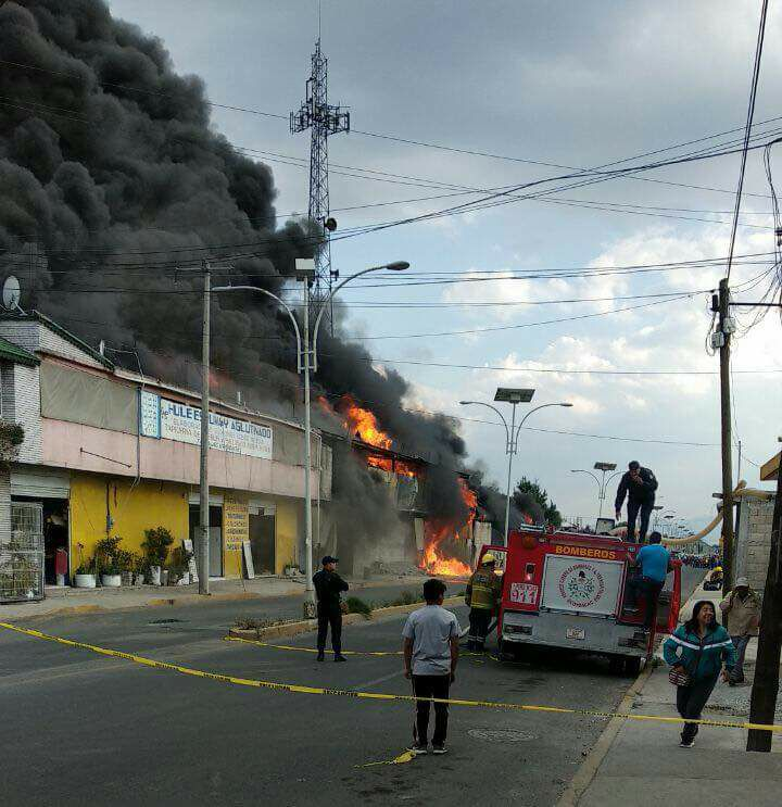 d48f75f3fd0 Incendio en una fábrica colchones de Ocoyoacac - NDL Noticias